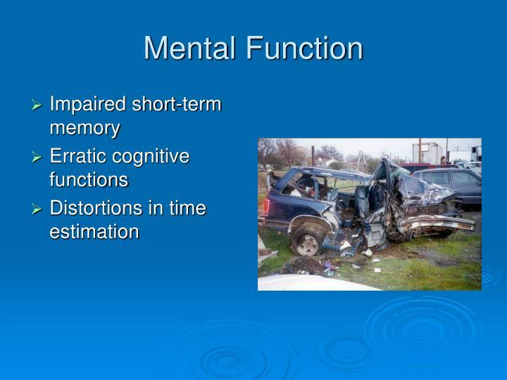 Mental Function