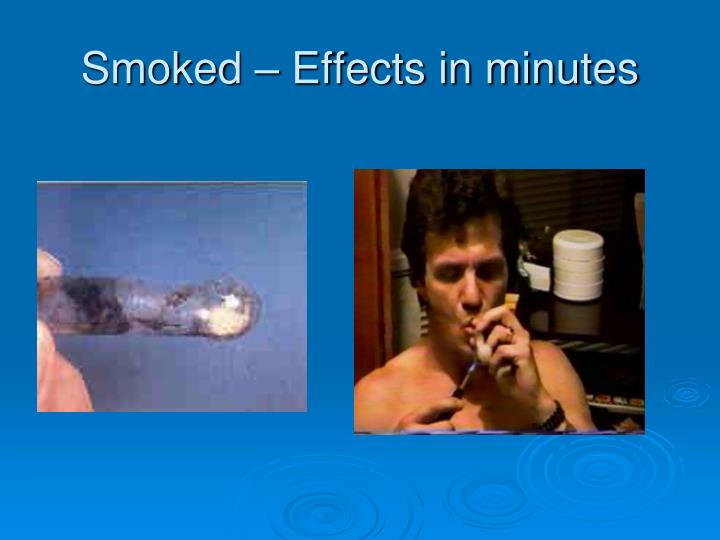 Smoked – Effects in minutes