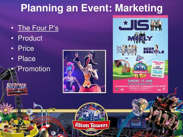 Planning an Event: Marketing