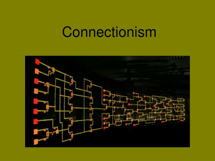 connectionism n.