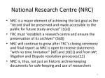 national research centre nrc