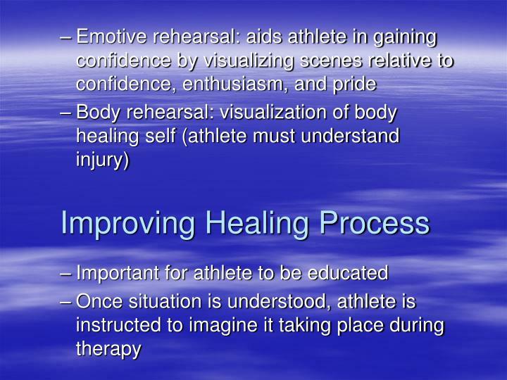 Improving Healing Process