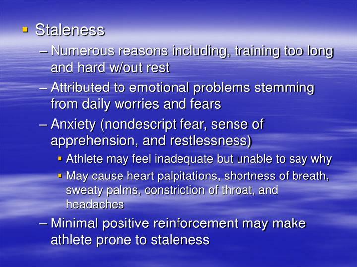 Staleness