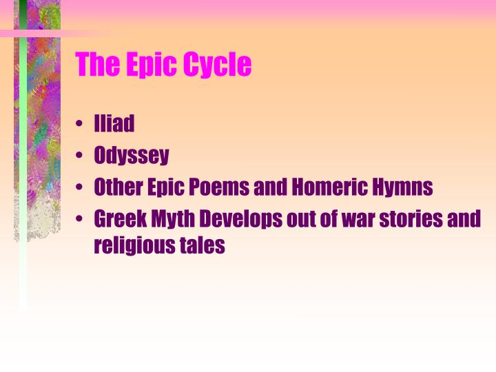 The epic cycle