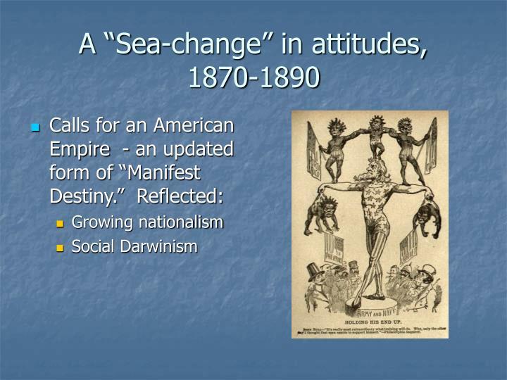 """A """"Sea-change"""" in attitudes,"""