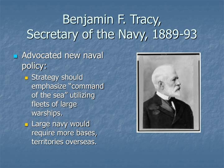 Benjamin F. Tracy,