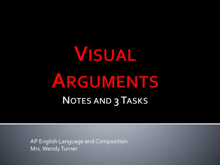 ap english language and composition mrs wendy turner n.