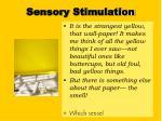 sensory stimulation1