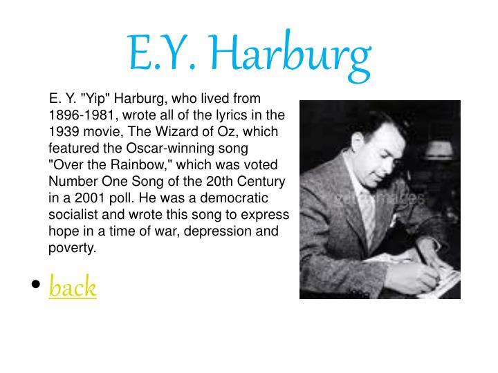 E.Y. Harburg