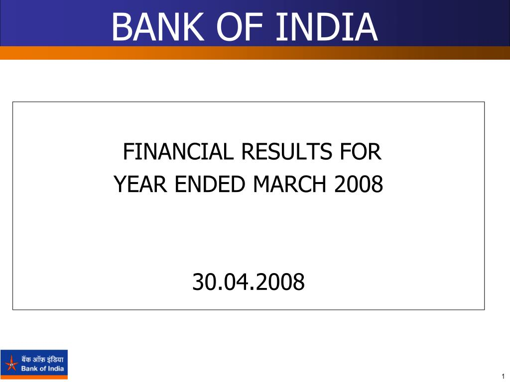 bank of india l.