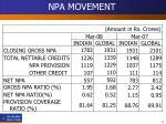 npa movement15