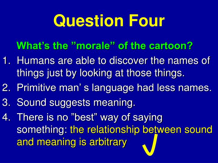 Question Four