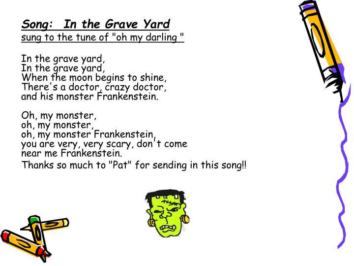 Song: In the Grave Yard