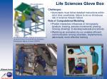 life sciences glove box