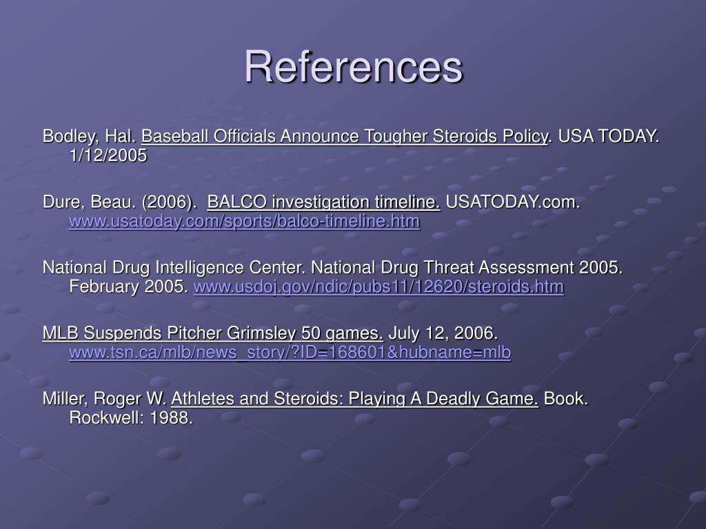Ppt Major League Baseball And Steroids Powerpoint Presentation Free Download Id 988651