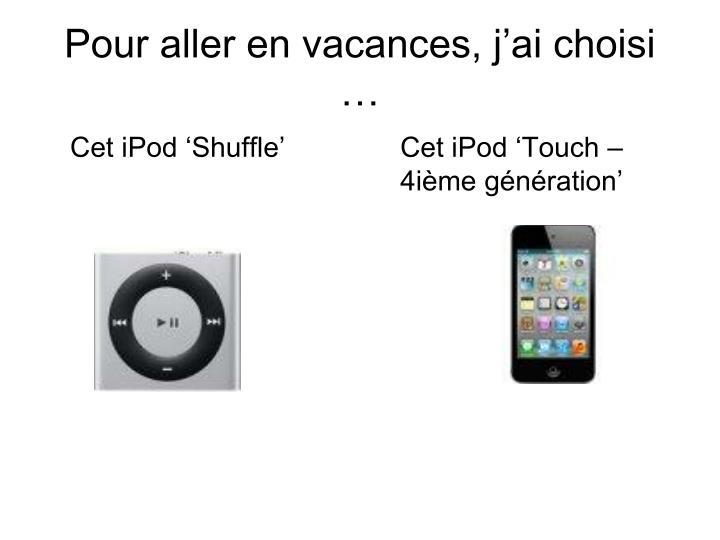 Cet iPod 'Shuffle'