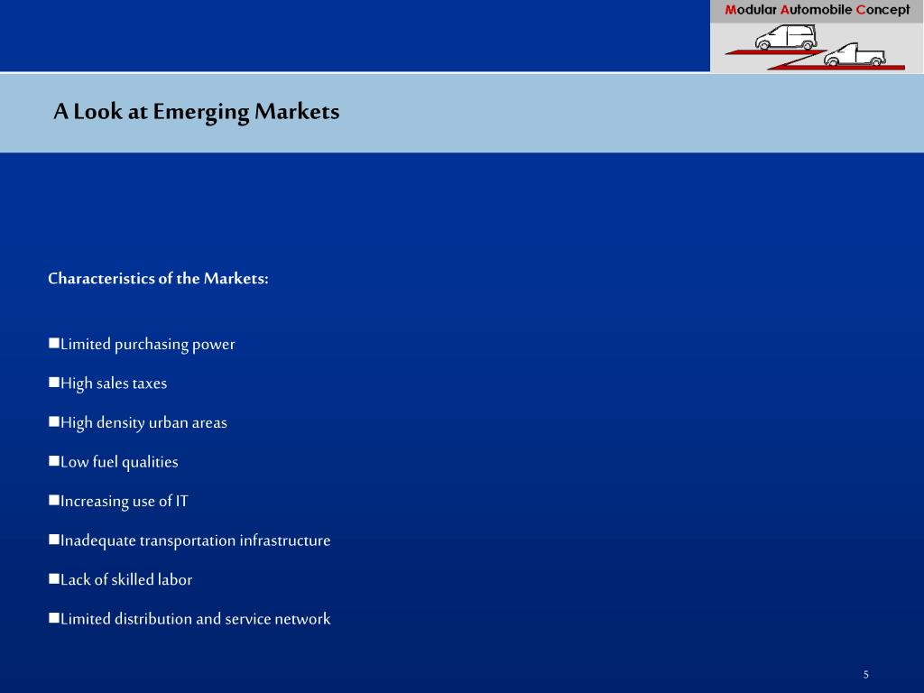 A Look at Emerging Markets