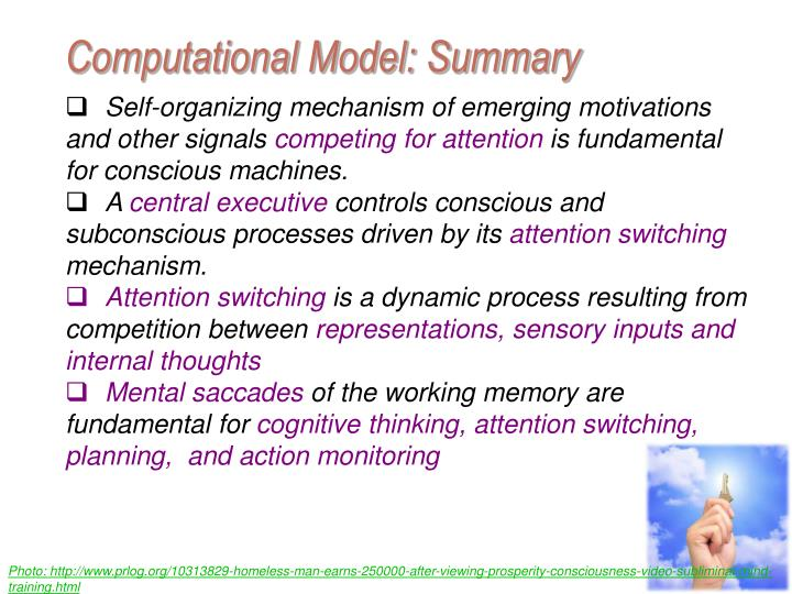 Computational Model: Summary