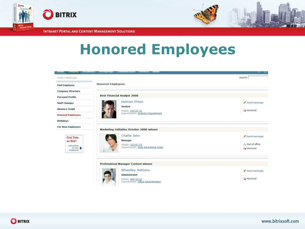 Honored Employees