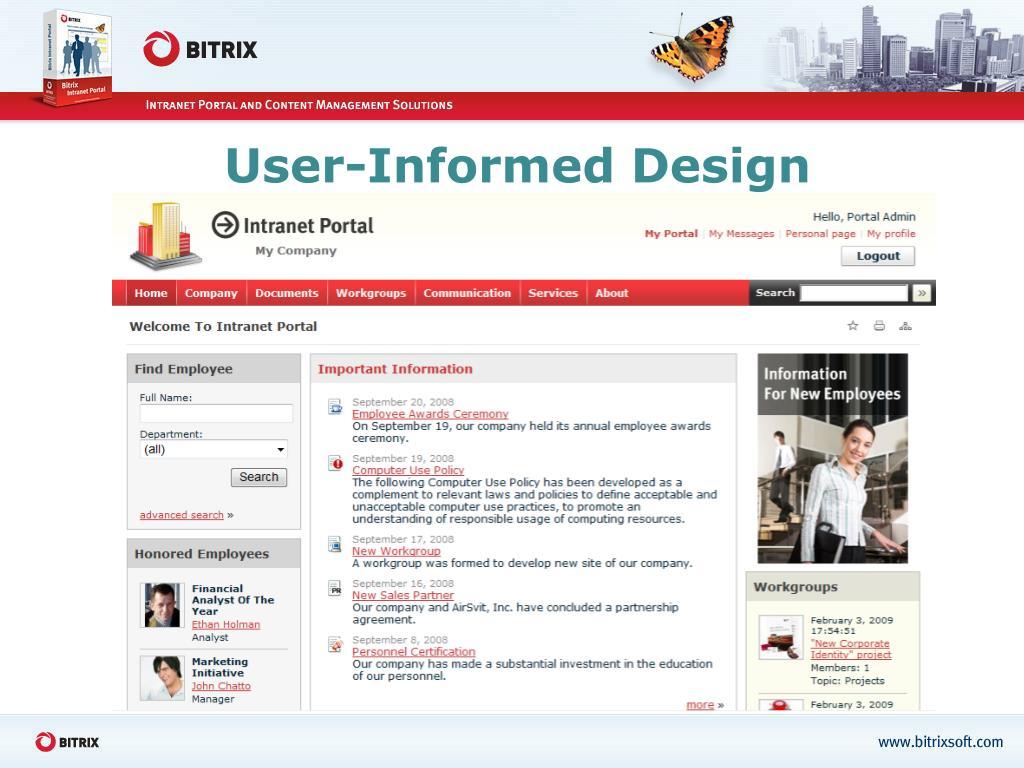 User-Informed Design