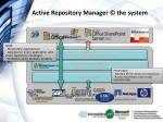 active repository manager the system
