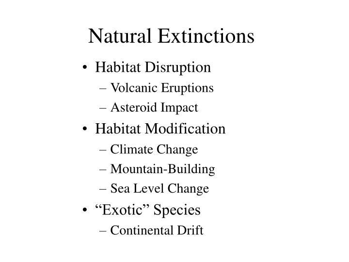 Natural extinctions3