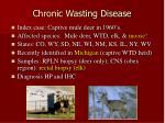 chronic wasting disease49