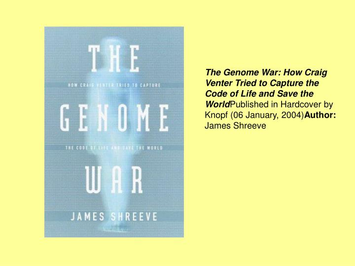 Ppt From Genetics To Genomics The Human Genome Project And Beyond