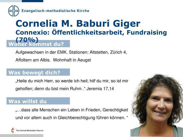 Cornelia M.
