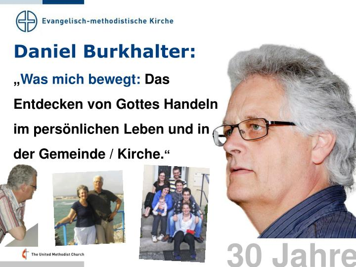 Daniel Burkhalter: