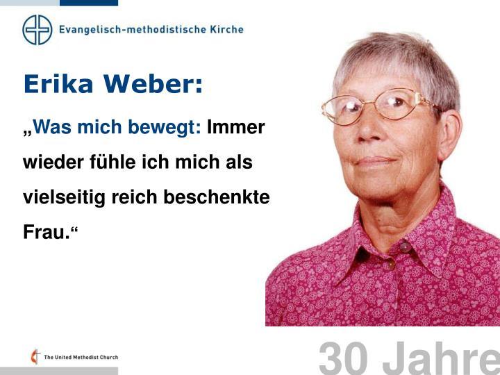 Erika Weber: