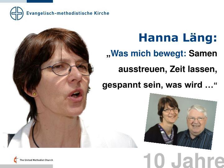Hanna Läng:
