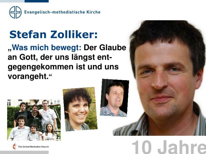 Stefan Zolliker: