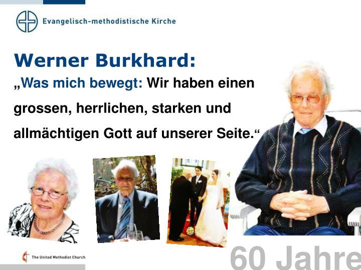 Werner Burkhard: