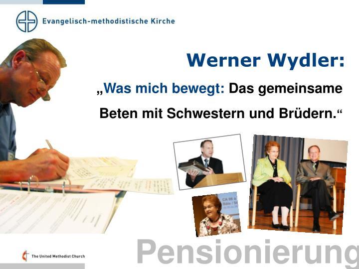 Werner Wydler: