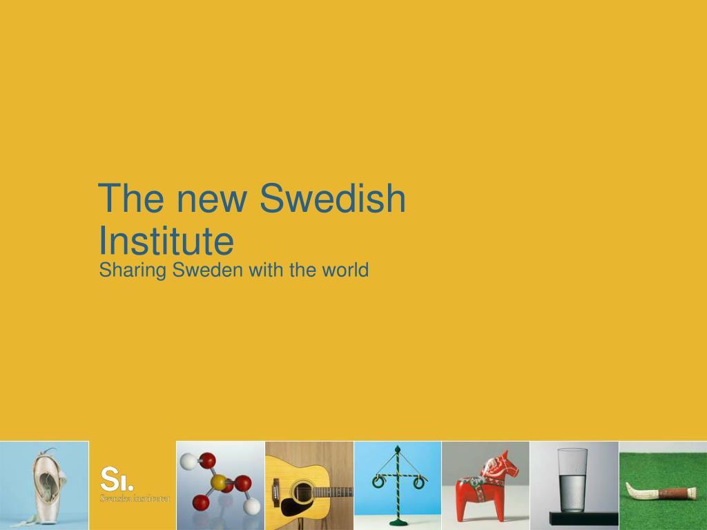 the new swedish institute l.