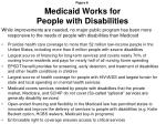 medicaid works for people with disabilities
