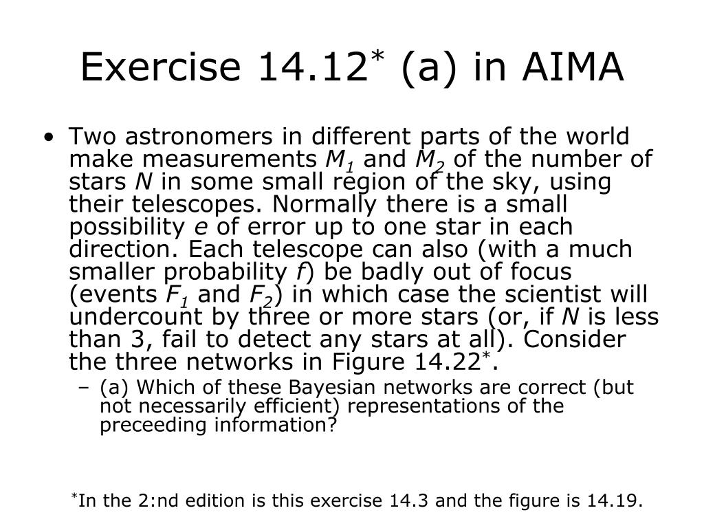 Exercise 14.12