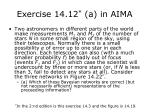exercise 14 12 a in aima