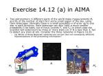 exercise 14 12 a in aima28