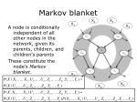 markov blanket