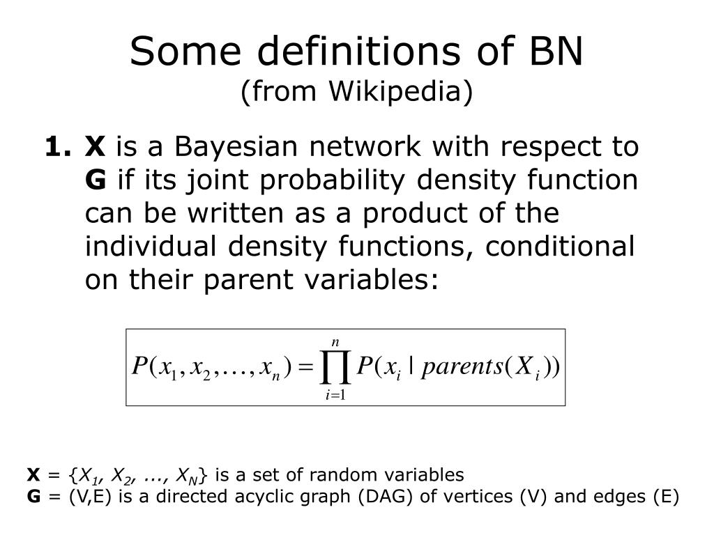 Some definitions of BN