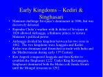 early kingdoms kediri singhasari