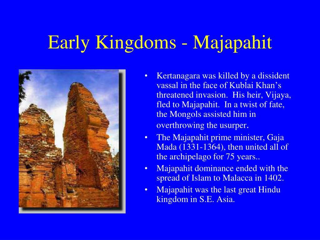 Early Kingdoms - Majapahit