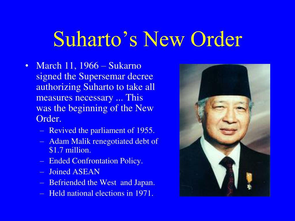 Suharto's New Order