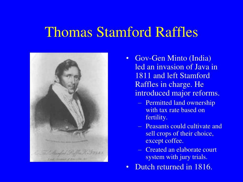 Thomas Stamford Raffles