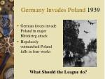 germany invades poland 1939