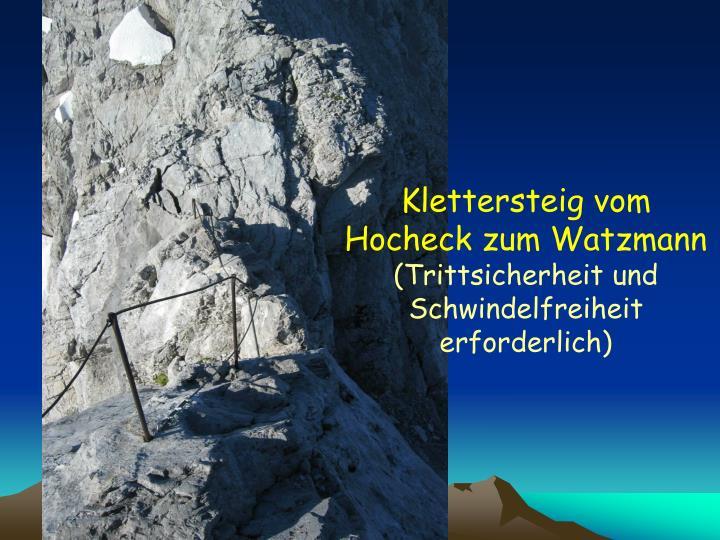 Klettersteig vom