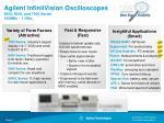 agilent infiniivision oscilloscopes 5000 6000 and 7000 series 100mhz 1 ghz