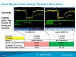 same measurement change timebase 40ns 20ns